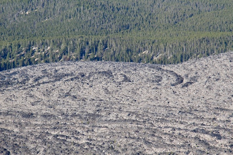 Overview of Obsidian Lava Flow