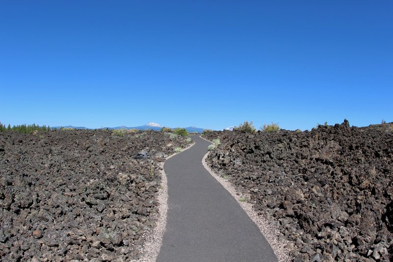 The path to Trail of the Molten Land