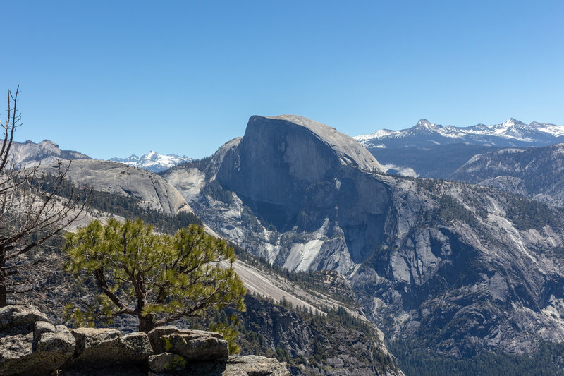 Half Dome from Yosemite Point.
