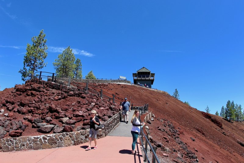 Lava Butte Lookout house.
