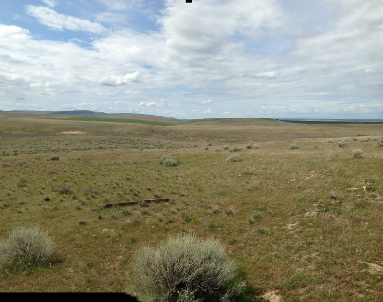 View of the Surrounding terrain