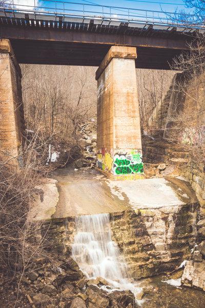 Lower Syndenham Falls