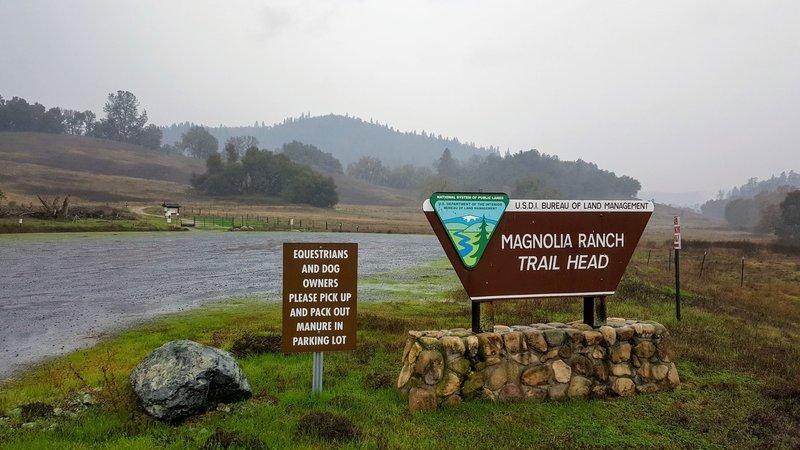 Magnolia Ranch TrailHead