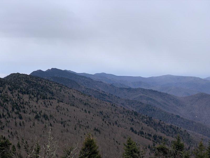 View of the entire Black Mountain Range