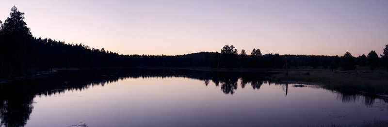 Scholz Lake Panorama - Flagstaff, Arizona