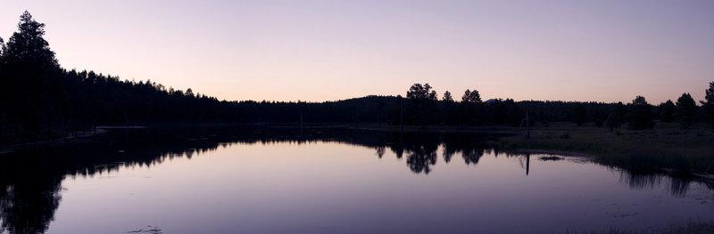 Scholz Lake Panorama - Flagstaff, Arizona