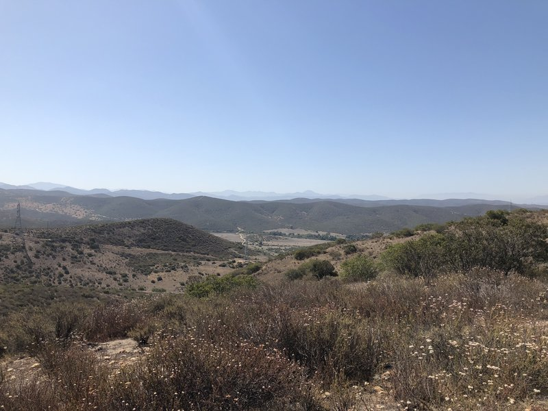 View into Sycamore Canyon.