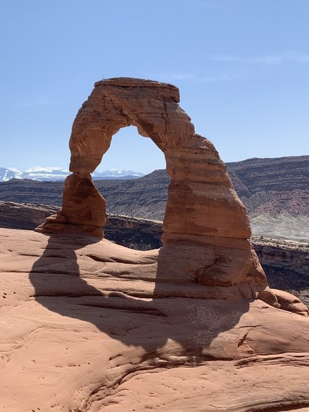 Hike into Delicate Arch after 25 years