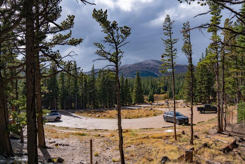 Rainbow Lakes Trailhead Parking, Colorado