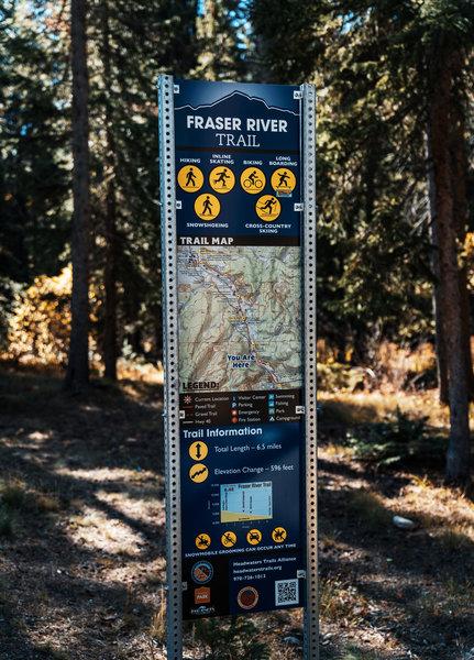Fraser River Trail - Winter Park, Colorado
