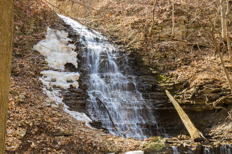 The upper portion of Scenic Falls.