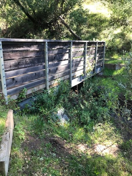 Miller Creek - First Bridge