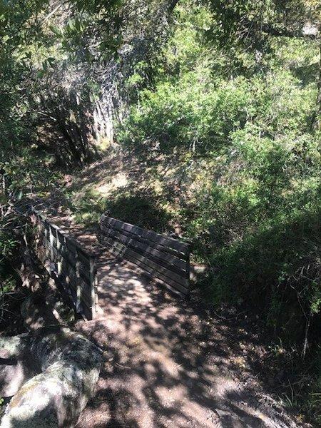 Miller Creek - Second Bridge