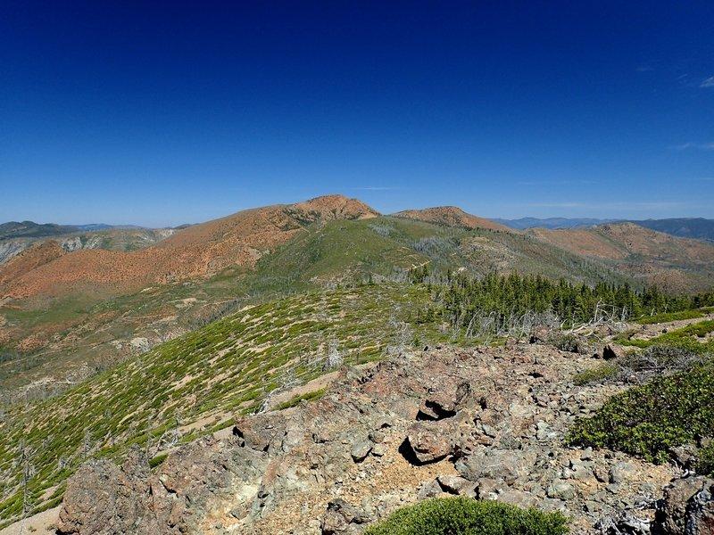 Pearsoll Peak from Eagle Mountain