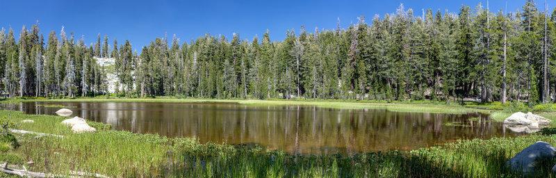One of the Chilnualna Lakes