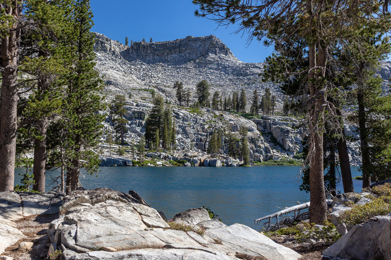 Buena Vista Lake and Buena Vista Peak