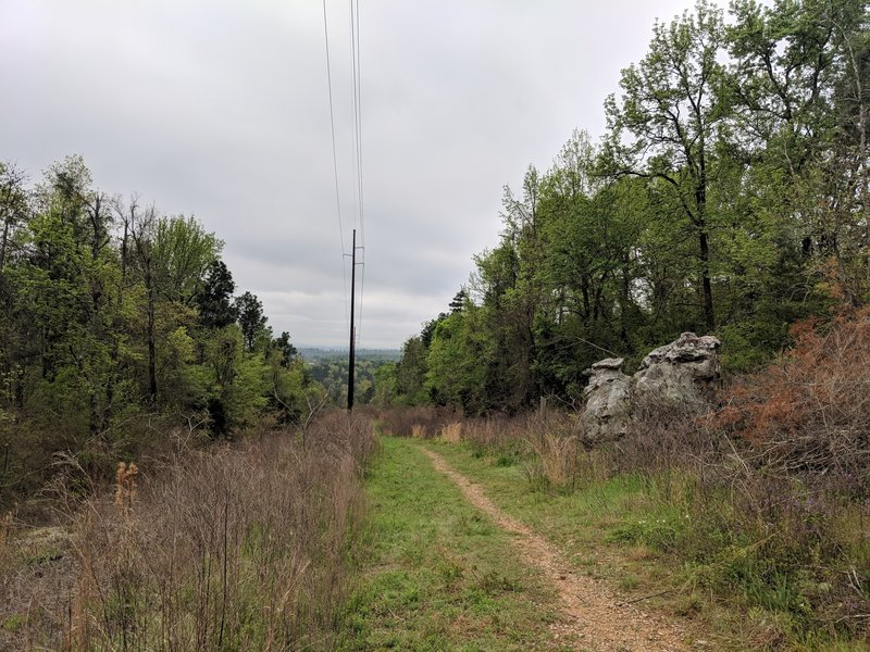 Moss Rock Power Line Trail