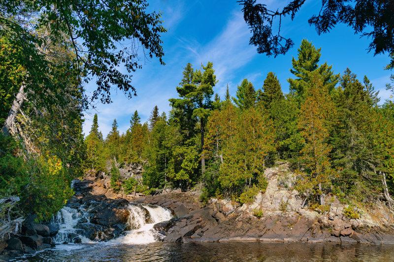 Manitou River Cascades Waterfall, Minnesota