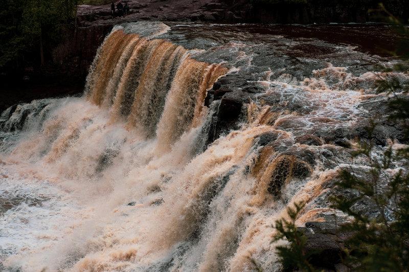 Gooseberry Falls State Park 5/19/17 #waterfall #minnesota