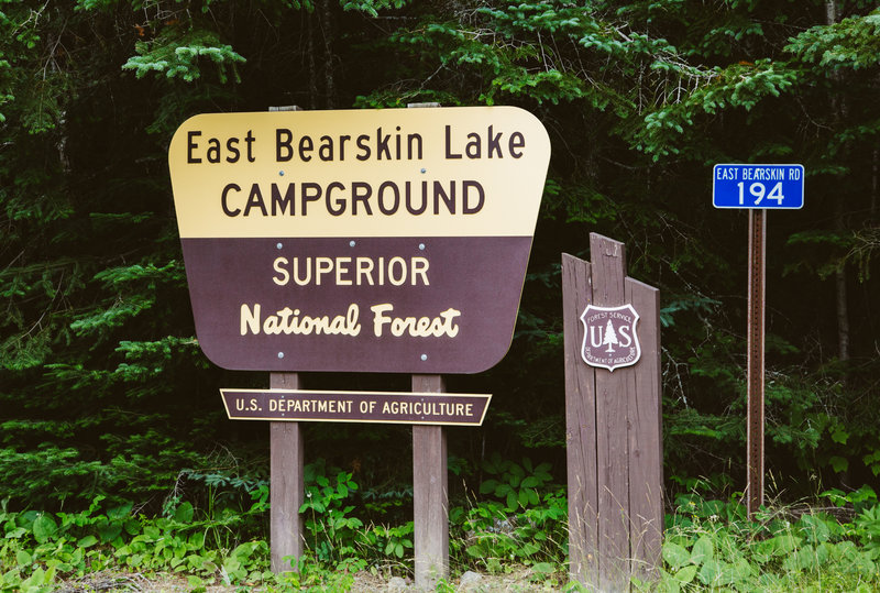 East Bearskin Lake Campground, Gunflint Trail, Minnesota