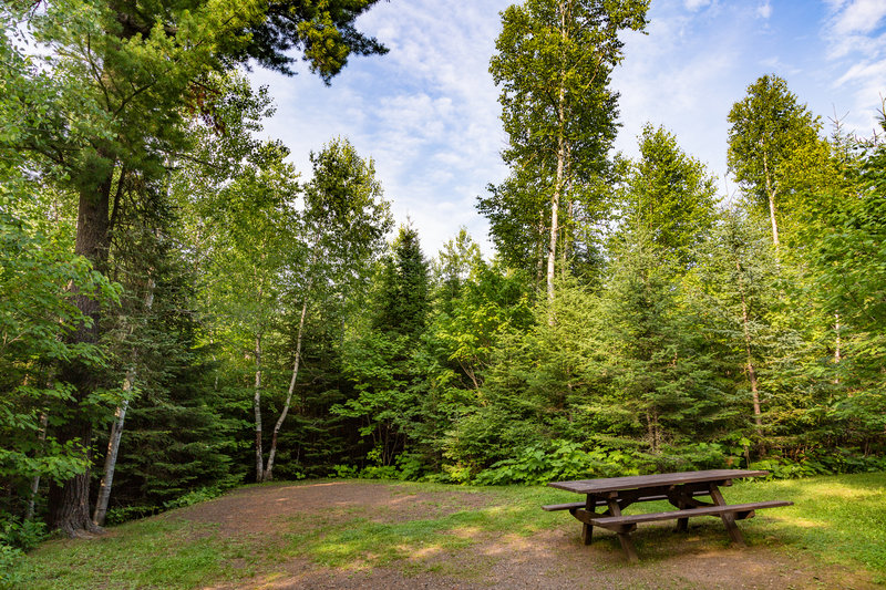 Flour Lake Campground on the Gunflint Trail