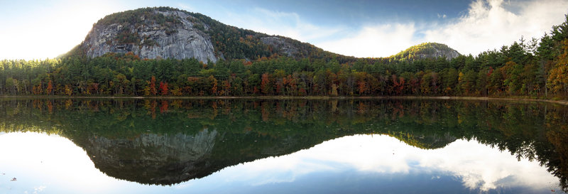 Echo Lake and Cathedral Ledge, North Conway