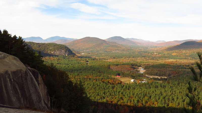 View from Cathedral Ledge, North Conway