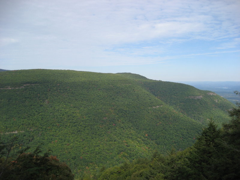 view from Wildcat Falls