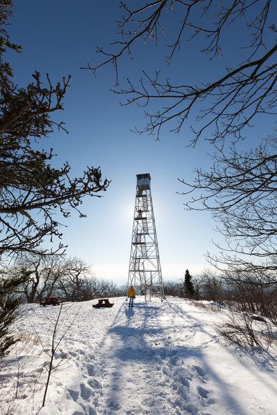 Woodstock fire tower
