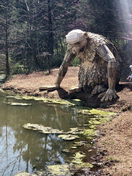 There are Trolls at Bernheim