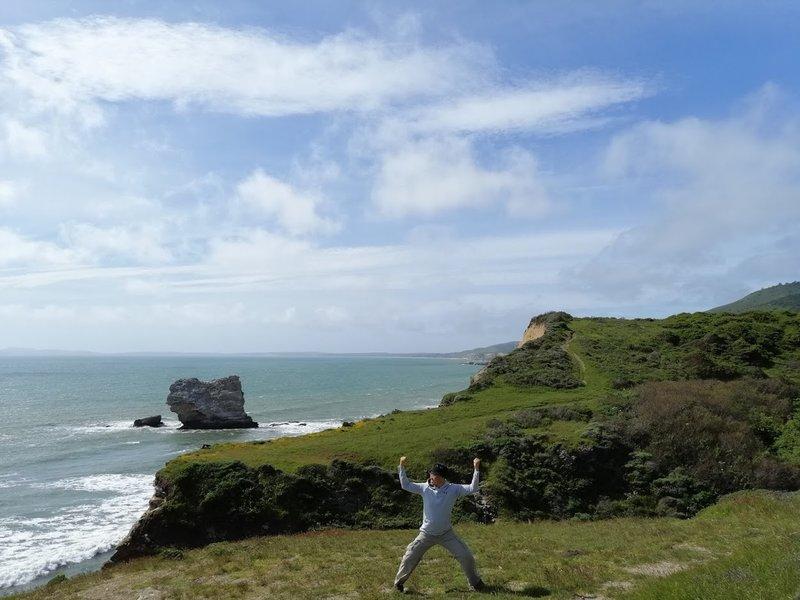 Coastal view near The Arch Rock