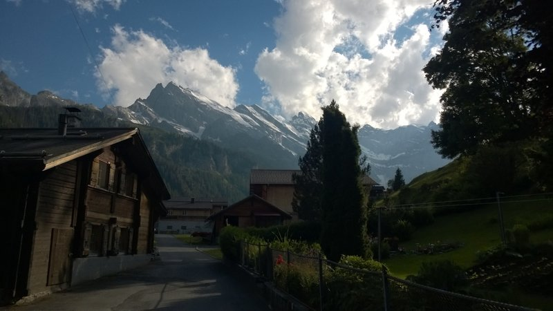 Gimmelwald in early evening