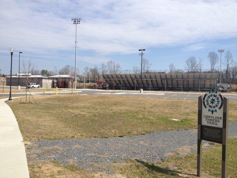 Cramerton HS Trail behind school athletic fields