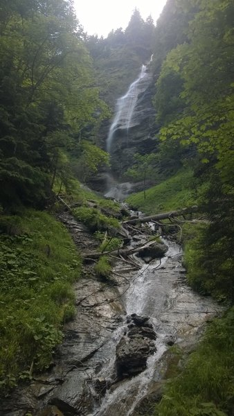 Muren hike: one of the waterfalls / cascades