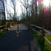 Pedestrian bridge along Salisbury Greenway (Grants Creek)