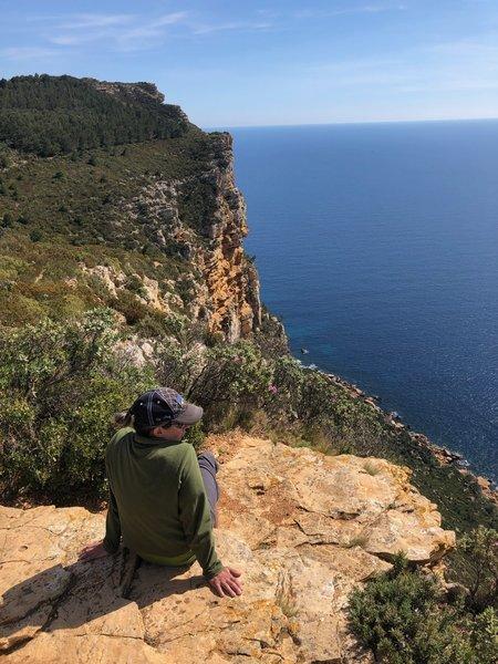 Along the Trail des Cretes