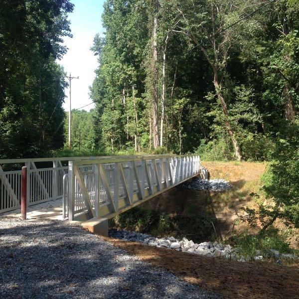 Bridge at Catawba Nation Greenway Trail