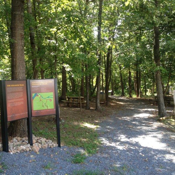 Interpretative Signage along Catawba Nation Greenway Trail