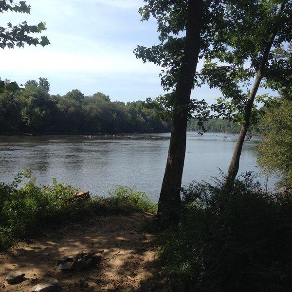 Catawba River at Catawba Nation Greenway Trail