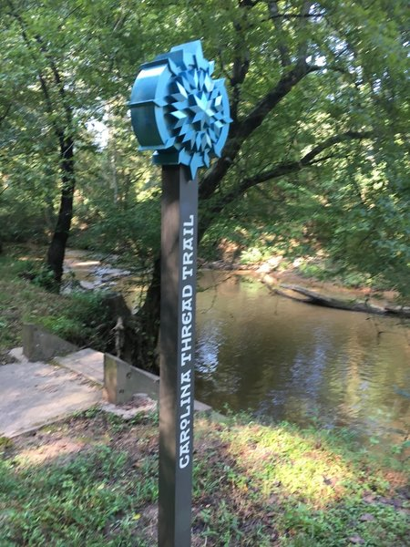 Clark Creek Hand-Carry Canoe and Kayak Launch at Ramsour's Mill Trail