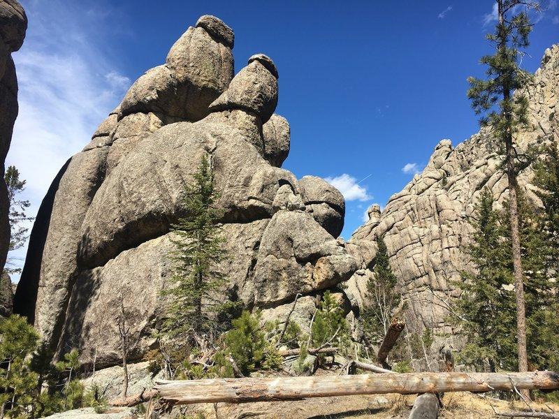 Elkhorn Mountain granite formations