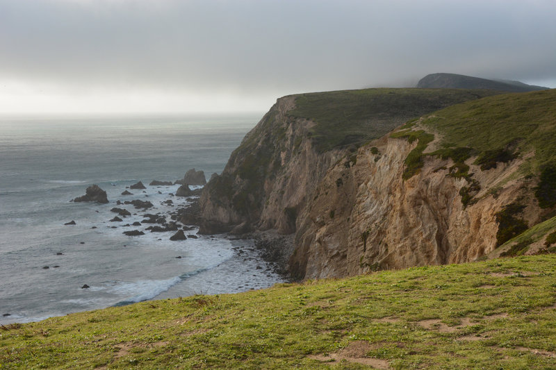 Cliffs along Point Reyes