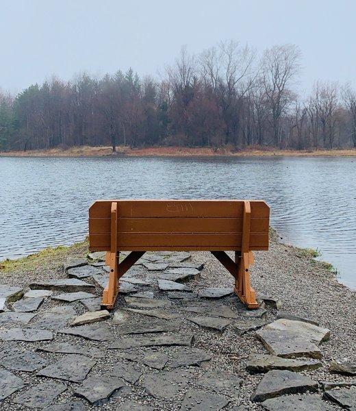 View of Flattail Lake