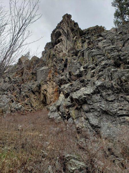 Beautiful rock formations near Deer Creek