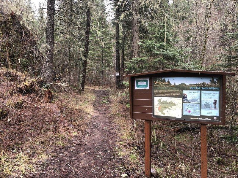 Buck Creek Trailhead