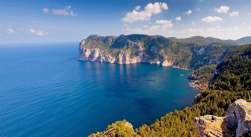 Coastal view near Sant Mateu d'Albarca