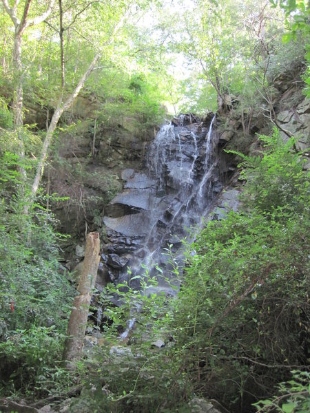 Waterfall at Rocky Creek Trail