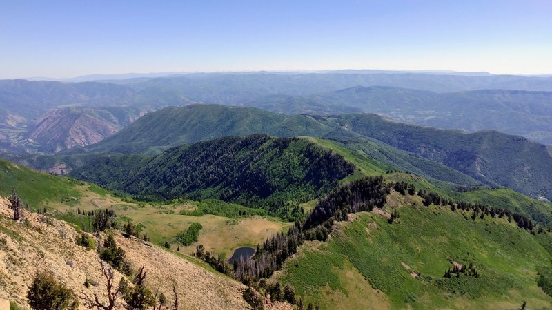 View from Spanish Fork Peak