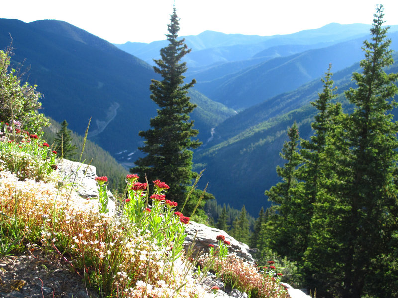 King's Crown at the ski valley overlook.