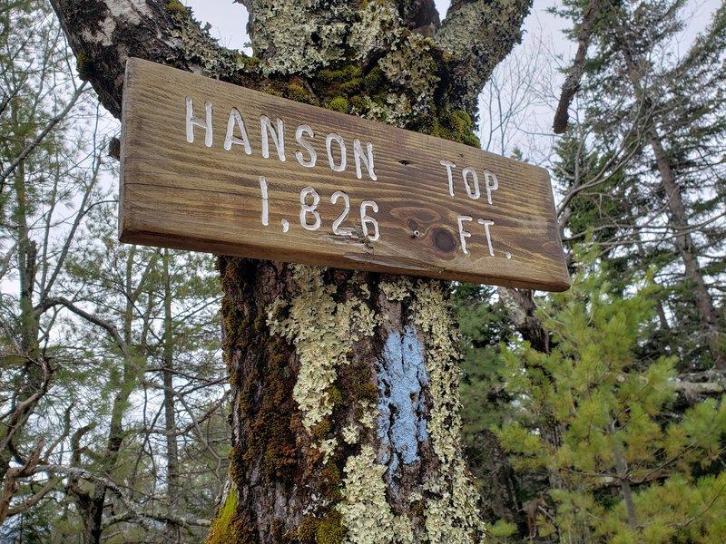 Hanson Top summit